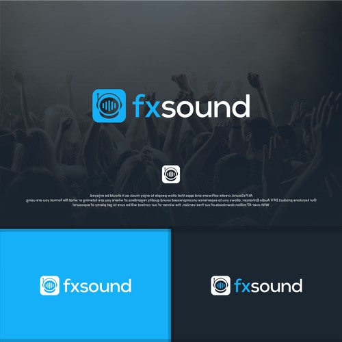 Modern Logo for Music software startup