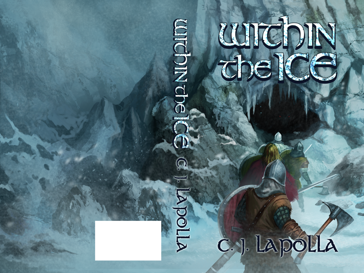Within the Ice Novel Book Cover
