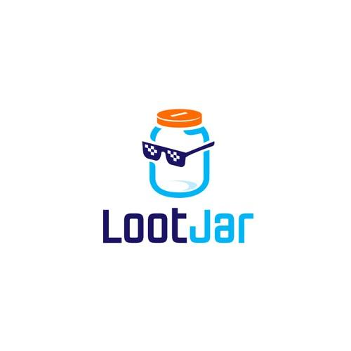 Logo for a crypto gaming platform