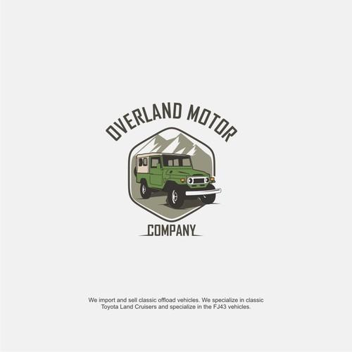 Logo design for Overland Motor Company