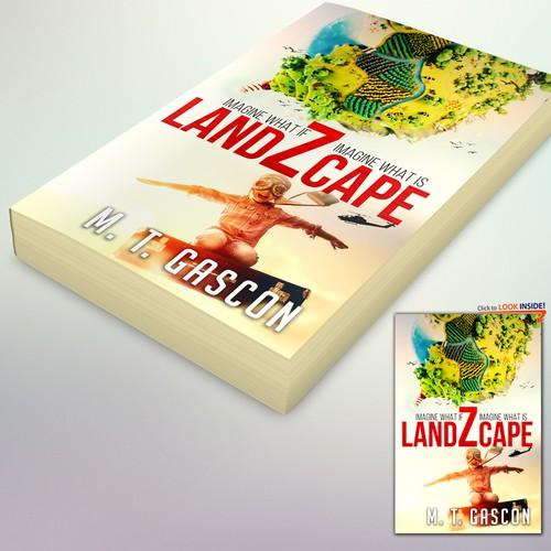 "Book Cover Concept for ""LandZcape"""