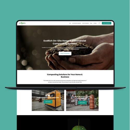 EcoRich Website Design