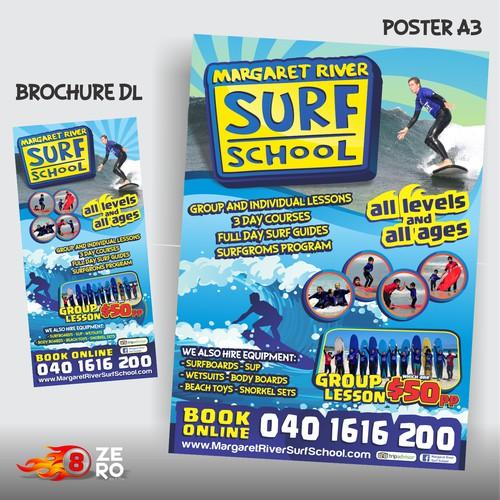 poster MARGARETY RIVER SURF