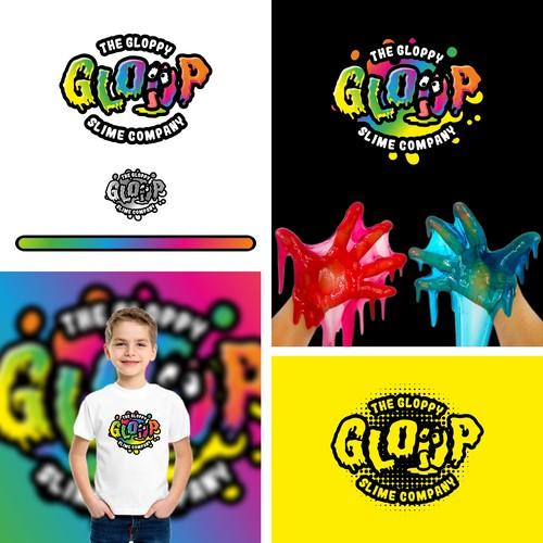 Slime and gloppy logo