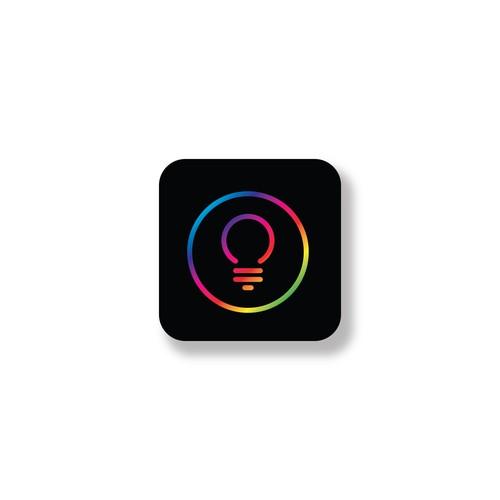 RGB light logo