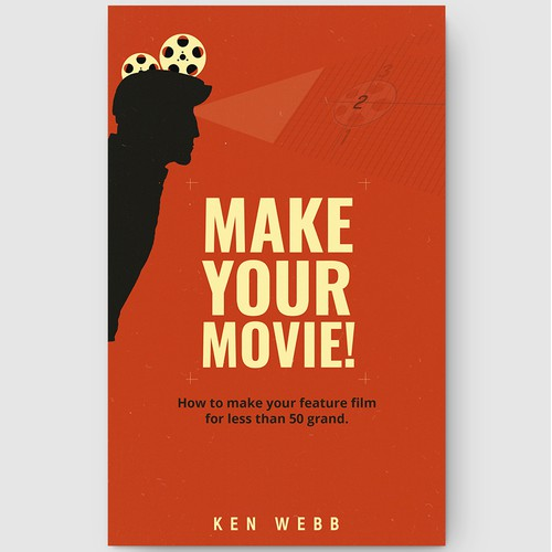"""Book Cover design for """"Make Your Movie!"""
