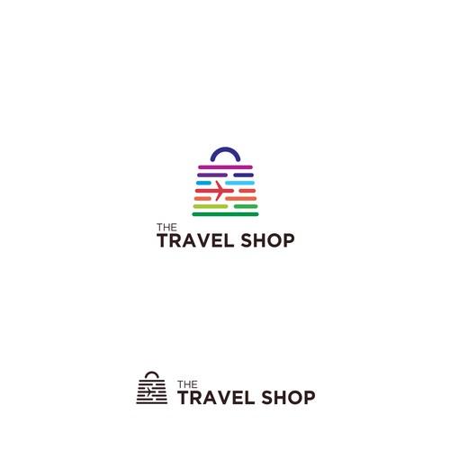 Memorable Logo Concept for The Travel Shop