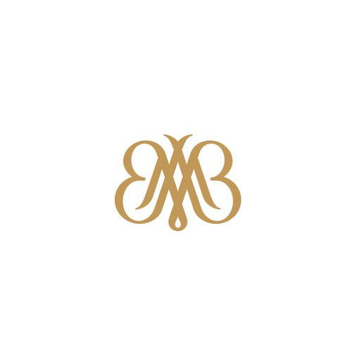 MB Monogram + Butterfly