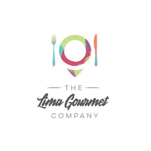 Logo concept for 'The Lima Gourmet Company'