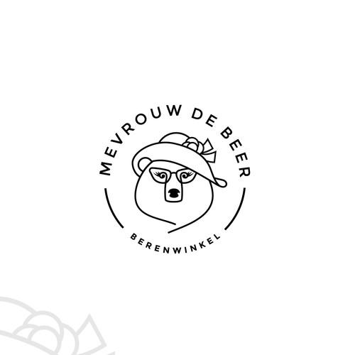 Logo for a bear shop