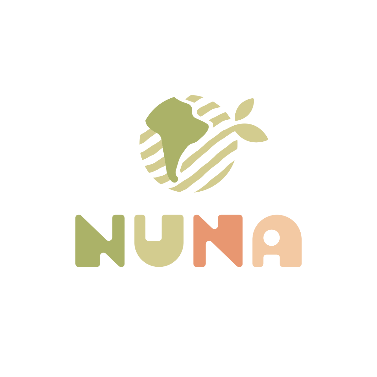 Logo for NUNA: Peru's newest brand of sustainable toys + baby- and kids accessories