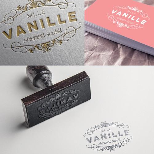 Mlle Vanille Bakery Logo