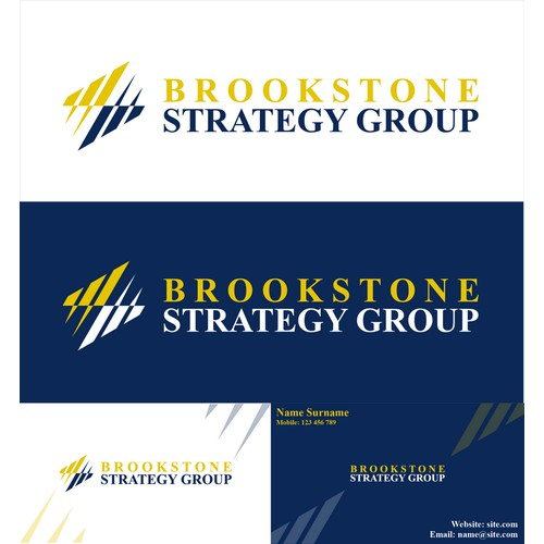 New logo and business card wanted for Brookstone Strategy Group