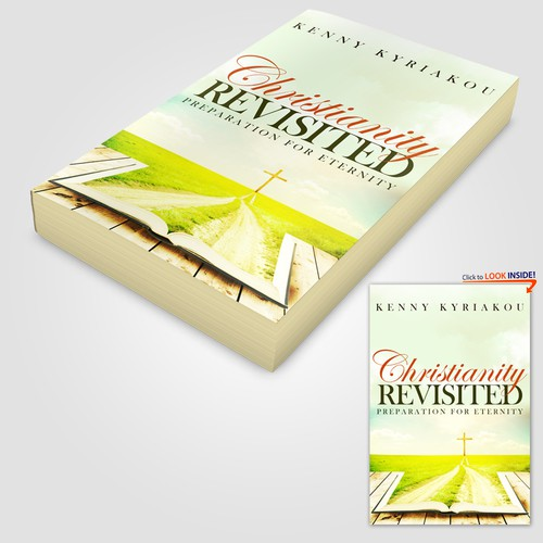 "Book cover concept of ""Christianity Revisited"" 2"