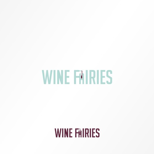 Create a funky, urban design for a new wine business