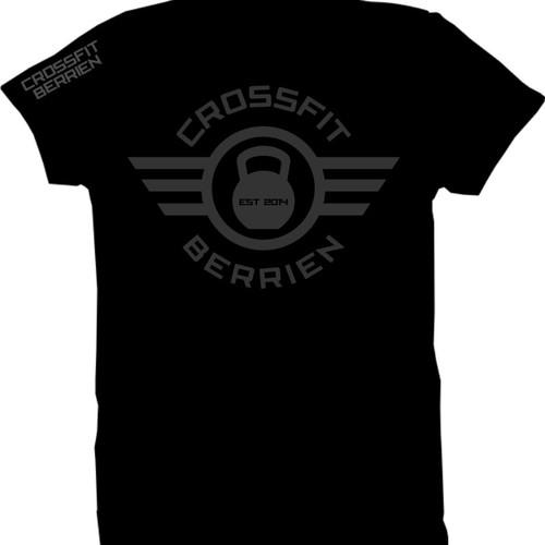 Create CrossFit T-shirt