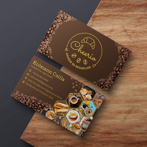 Cheerio Logo and Business Card