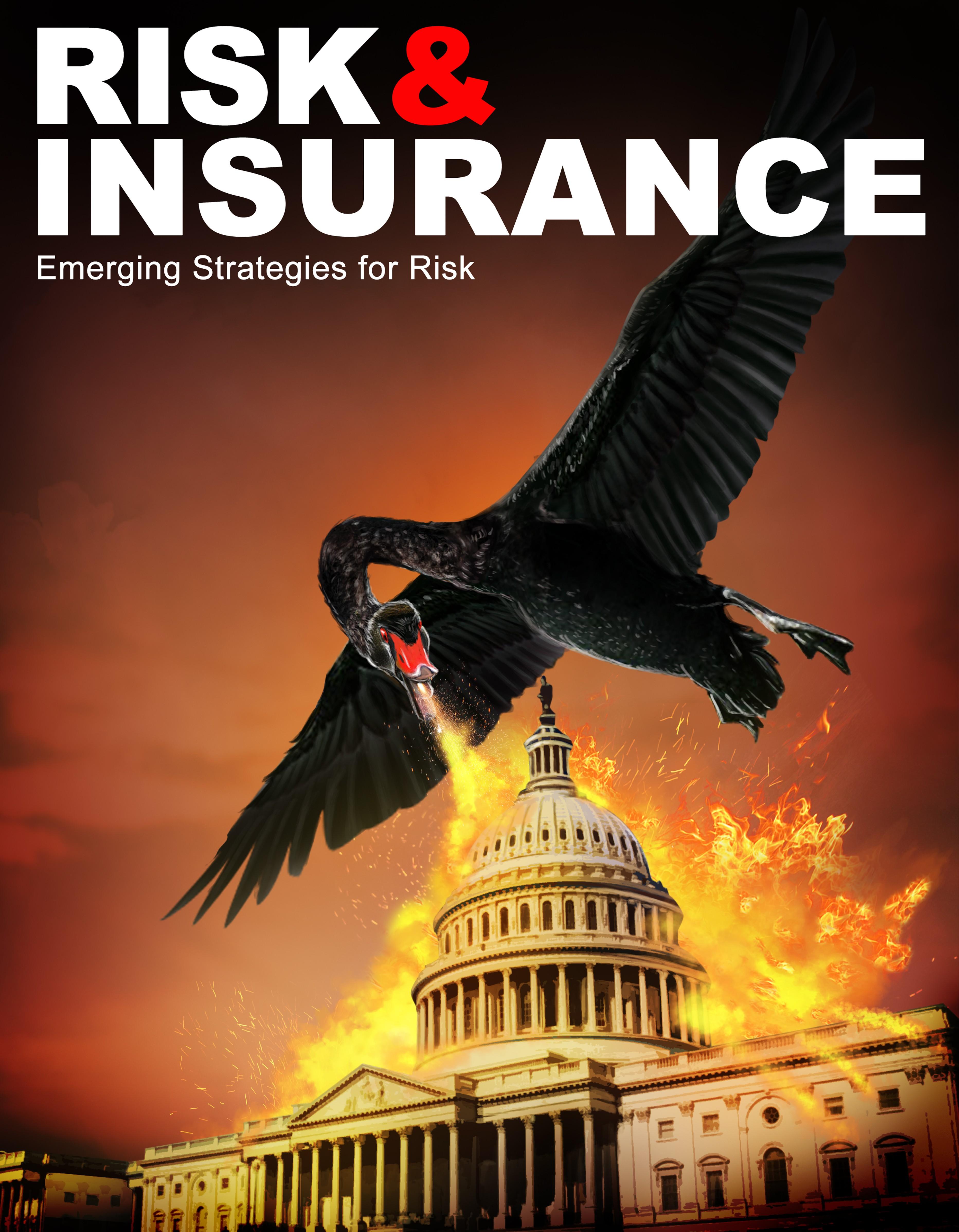 Illustration of Black Swan for Magazine Cover