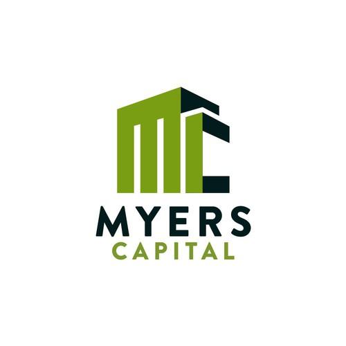 logo design real estate for myers capital