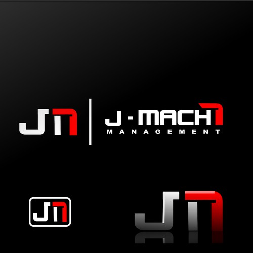 Power logo for J - Mach7 management