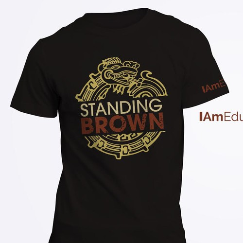 Create an engaging front of t-shirt logo with a flair of culture