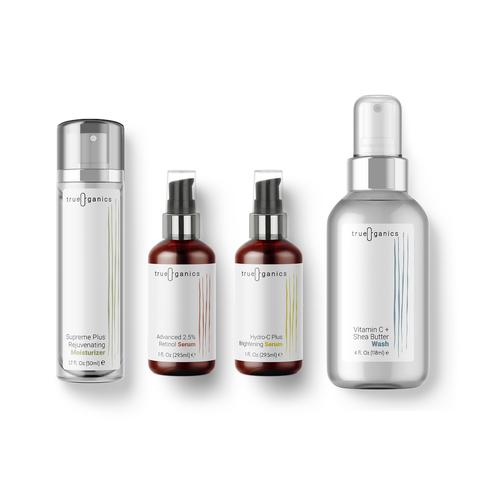 Minimalist Concept for Organic Skincare