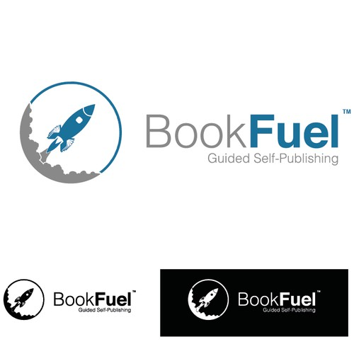 BookFuel - Logo design