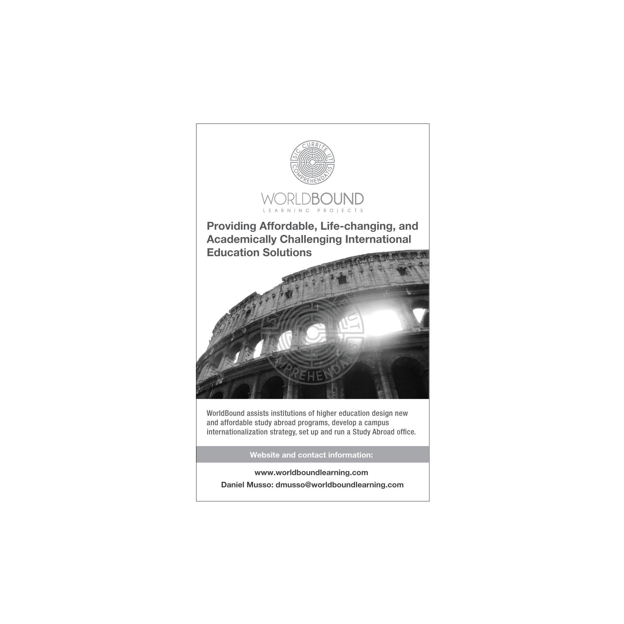 Ad for NYE Program Booklet