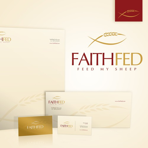 New logo and business card wanted for faith fed