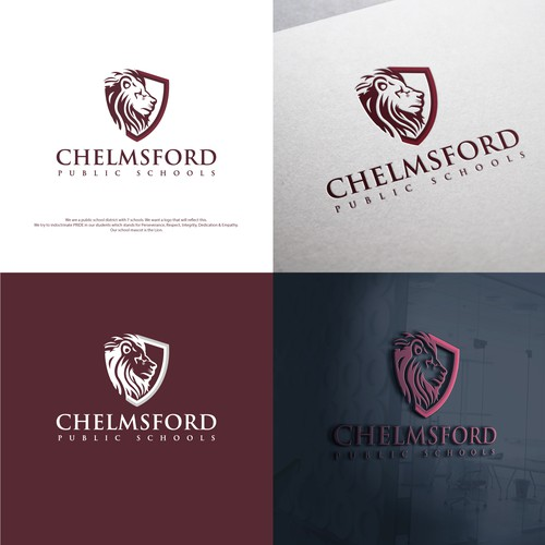 Strong and bold logo concept for 5280 Chelmsford Public School.
