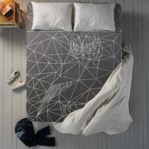 Bed sheet pattern design