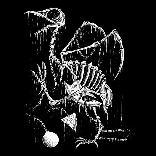 Bloody Bird skeleton
