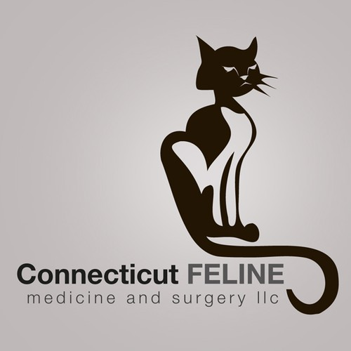 Help Connecticut Feline Medicine and Surgery LLC with a new logo