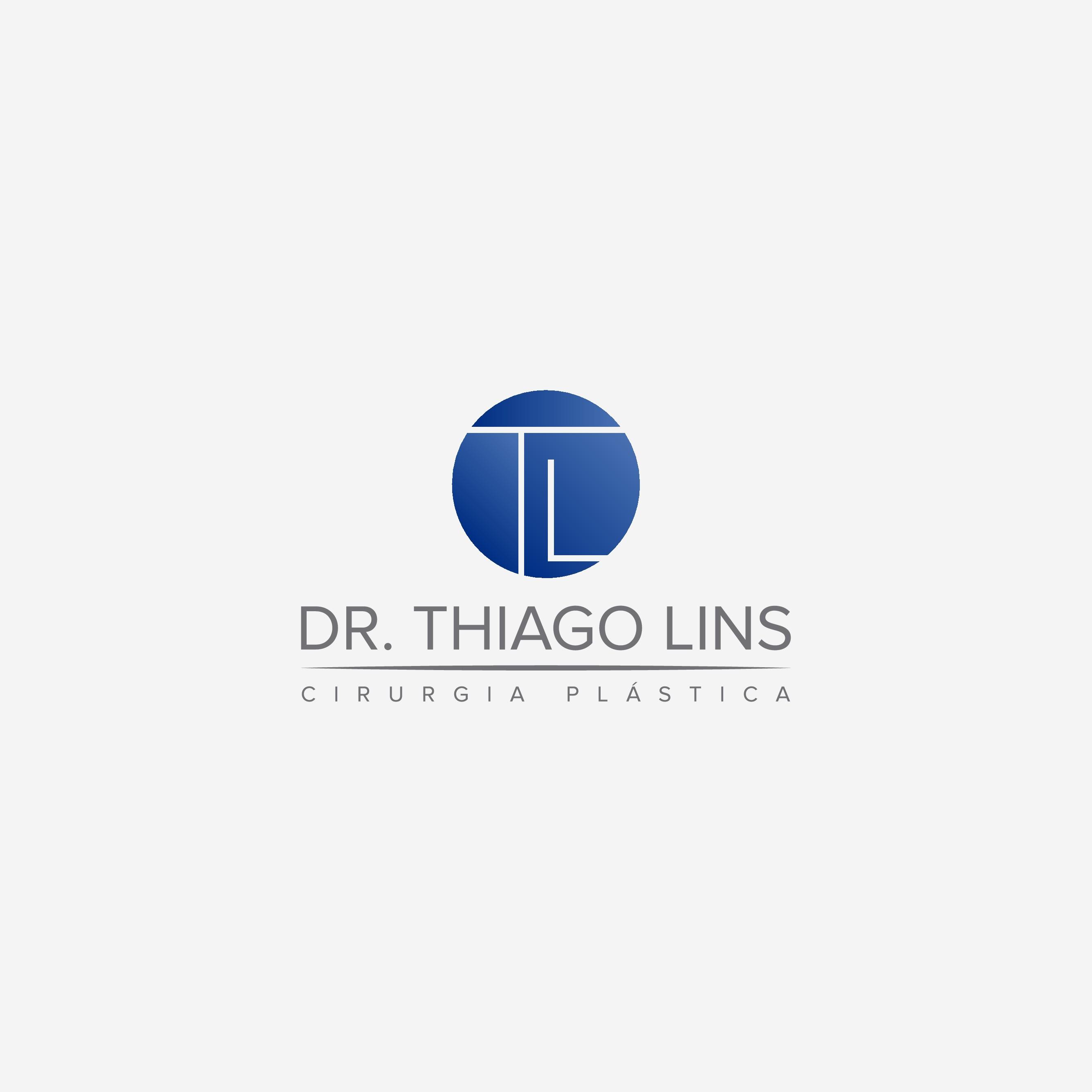 crie uma identidade visual para Dr.Thiago Lins cirurgiao plastico