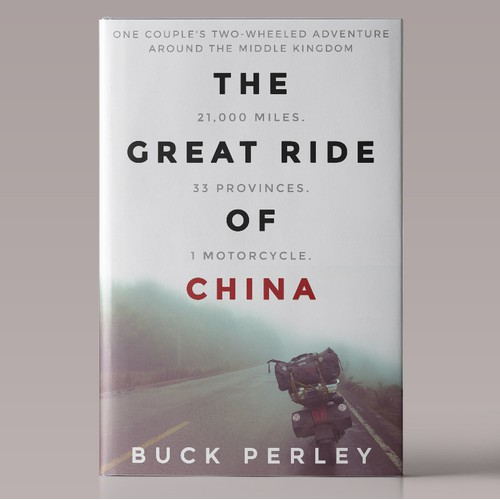 """Book Cover for """"The Great Ride Of China"""""""