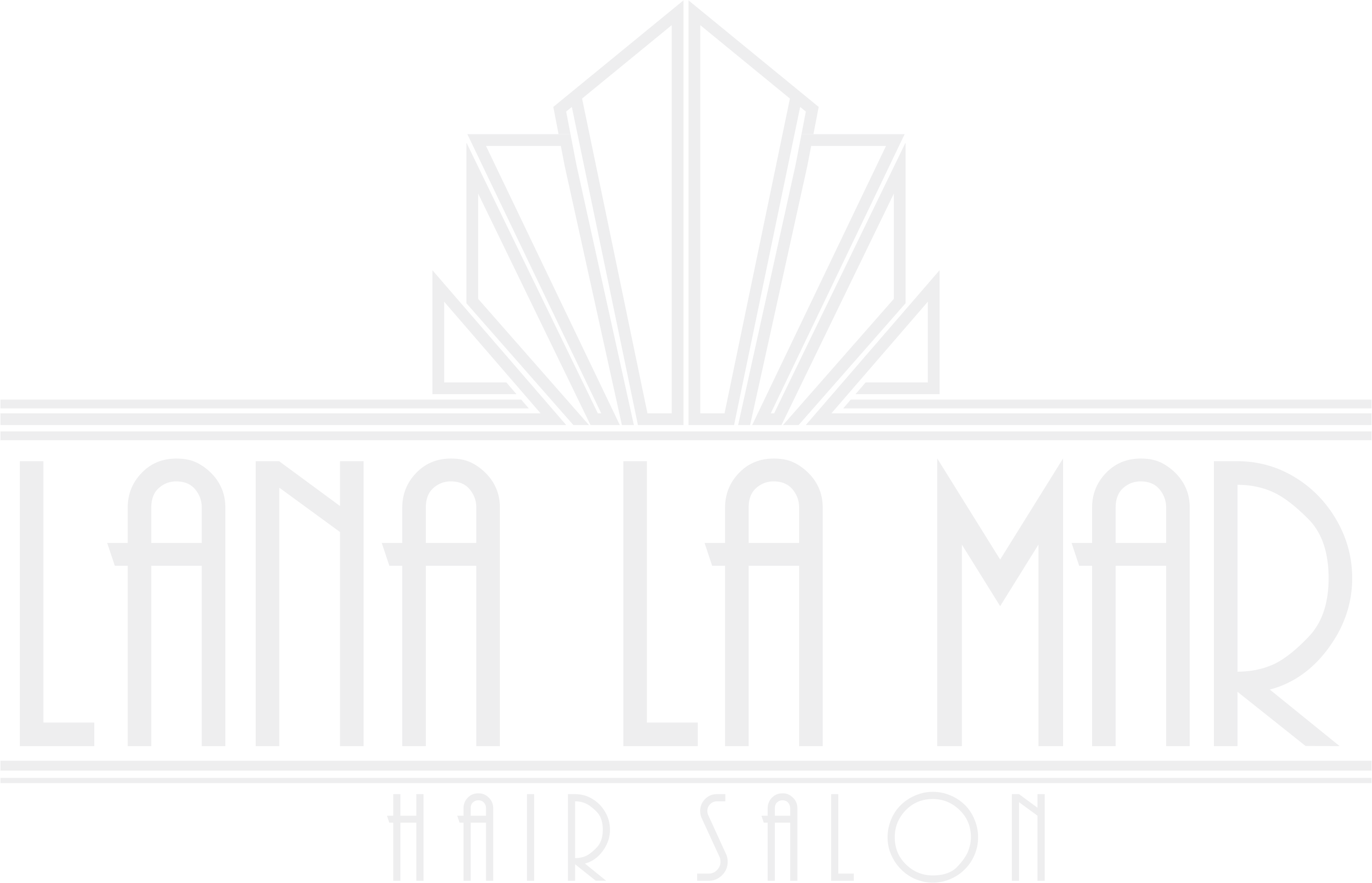 Design a modern/vintage hair salon logo for Lana La Mar.