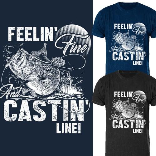 *GUARANTEED WINNER* Fishing Shirt #2- Outdoors/America/Fishing