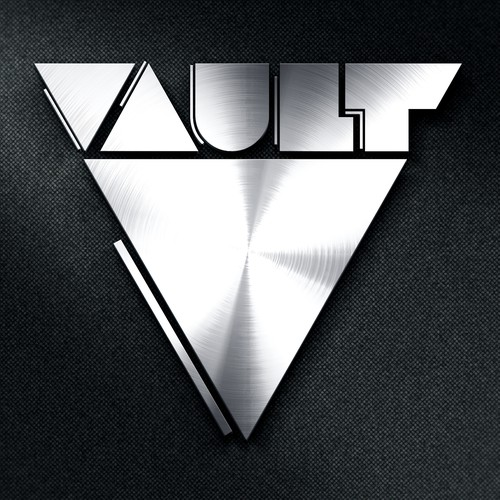 Logo Design For Futuristic Gym Concept.