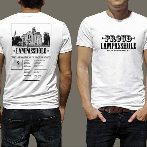 Lampasas, TX T-Shirt Design