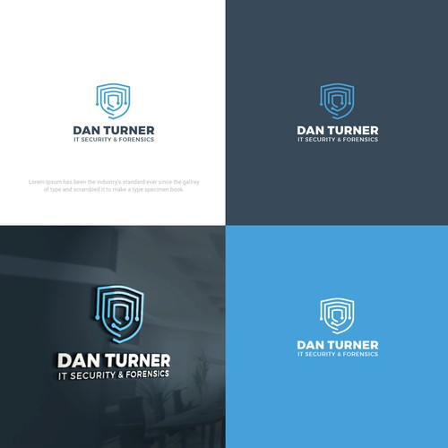 Designed logo for Cyber Security