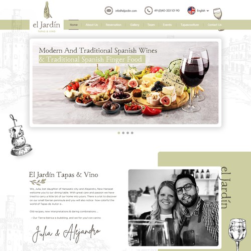 Urban Winebar and Restaurent Website