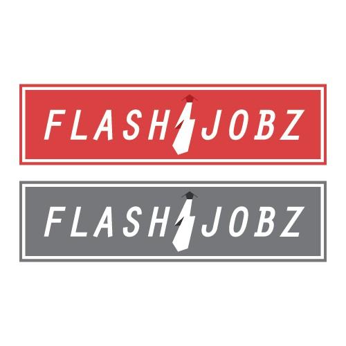 FlashJobs - HR company needs a new logo