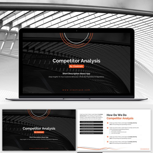 Design a Data Visualisation PPT Template That Is Simple To Understand