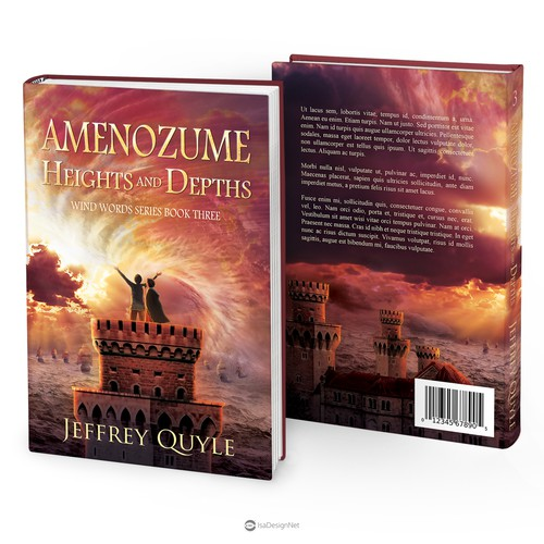 "Book cover for ""Amenozume, Heights and Depths"""