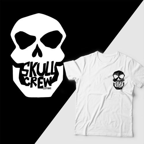 Skull crew clothing t-shirt