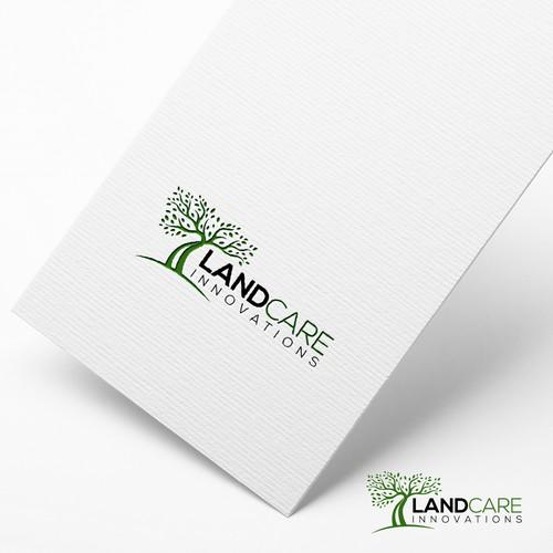 landcare logo design
