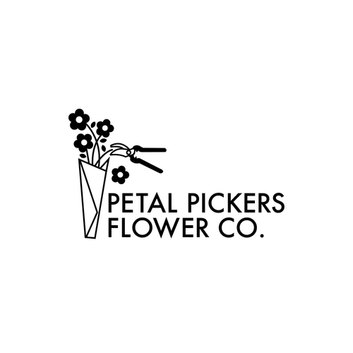 Logo design for flower company