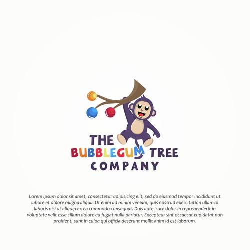 Design Character for The bubblegum Tree Company