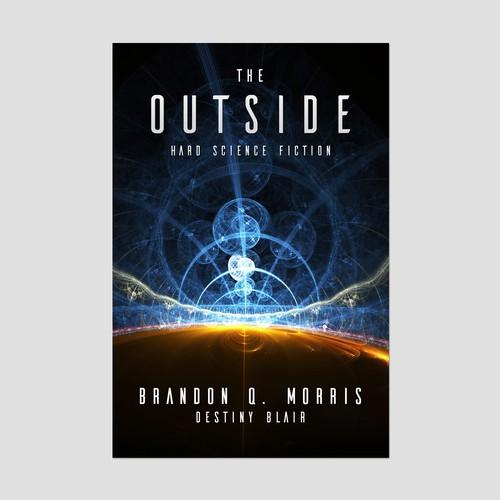Book Cover concept for Brandon Q. Morris