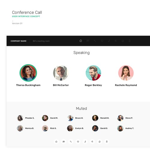 Conference Call UI